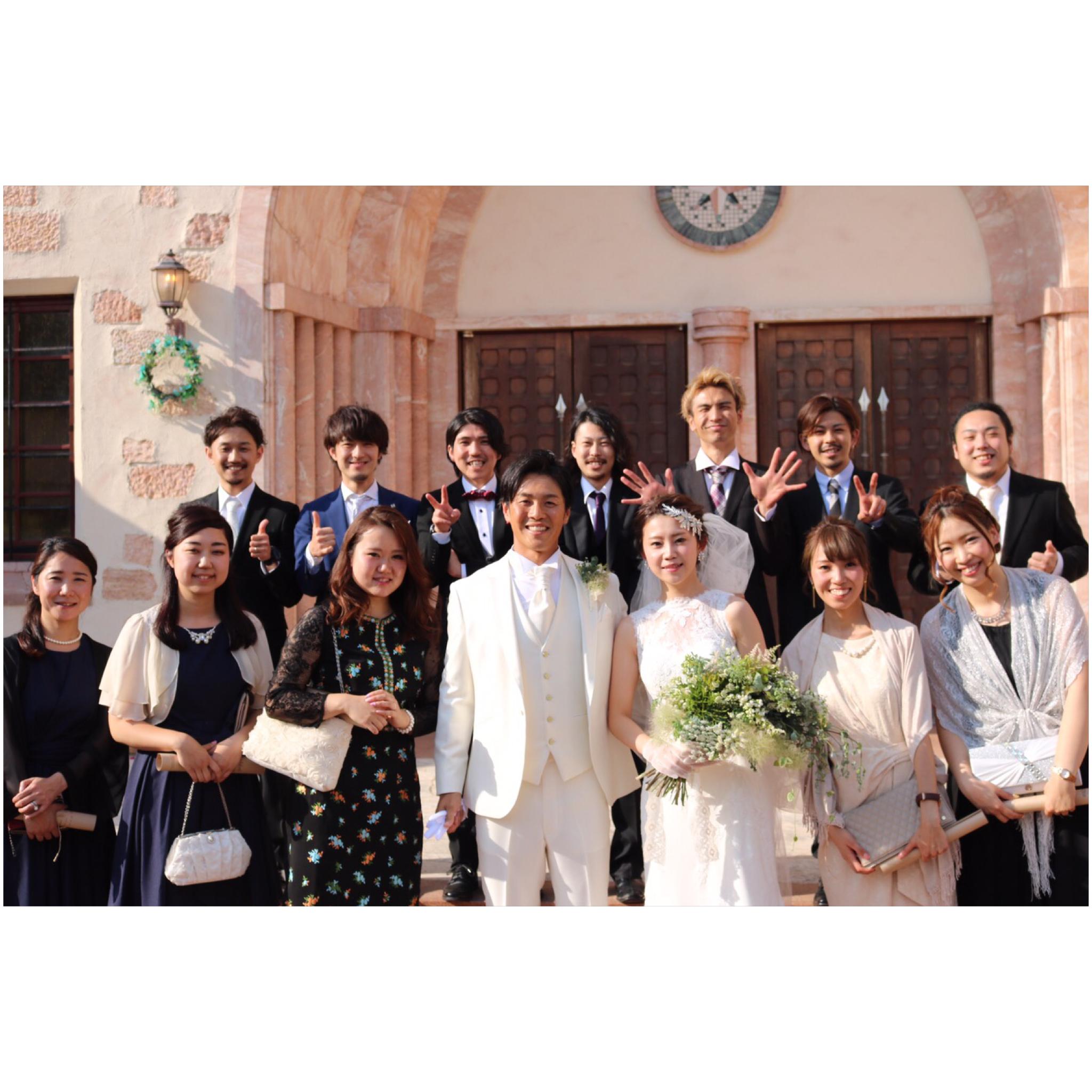 ふーちゃん結婚式♡